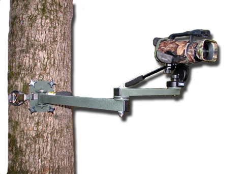 Tree Stand Video Camera Swing Arm Mount